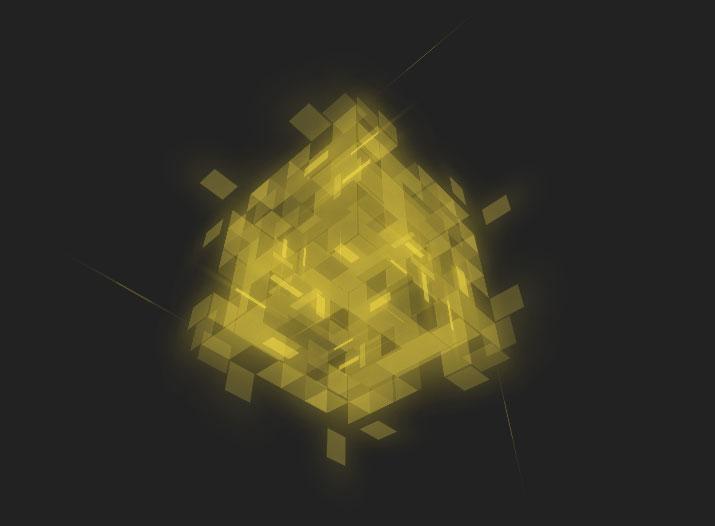 可交互的三角剖分表面立方体- 踏得网